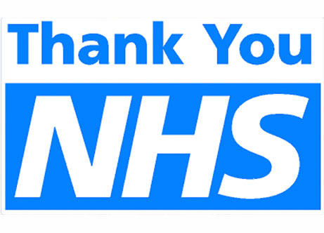 THANK YOU to the Key Workers, Front Line Staff and the NHS!